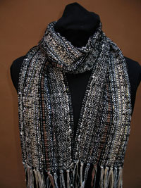 Scarves 7 x 60 inches.